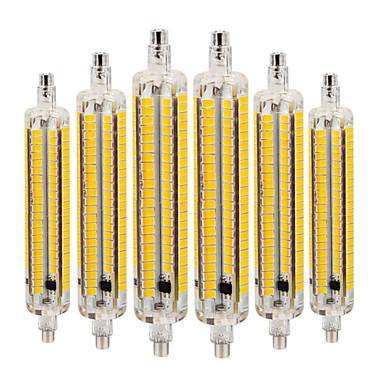 abordables Ampoules électriques-YWXLIGHT® 6pcs 9 W Ampoules Maïs LED 800-900 lm R7S 164 Perles LED SMD 5730 Intensité Réglable Décorative Blanc Chaud Blanc Froid Blanc Naturel 220-240 V