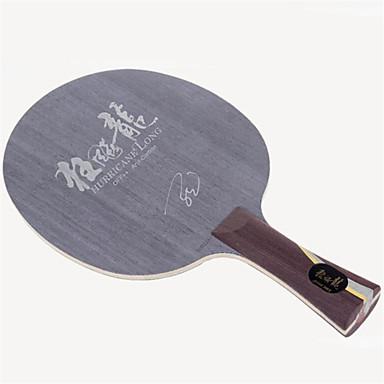 DHS® Hurricane LONG FL Ping Pang/מחבטי טניס שולחן לביש עמיד עץ סיבי פחמן Aryl פחמן OFF ++ 1