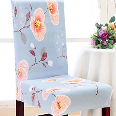 עכשווי כפרי 100% פוליאסטר ג'אקארד כיסוי לכיסא, פשוט פרחוני הדפס כיסויים