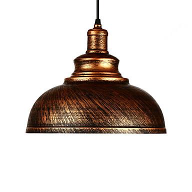 قطر 29cm أضواء قلادة خمر 1-الخفيفة المعدنية الظل غرفة المعيشة غرفة الطعام المدخل الإضاءة