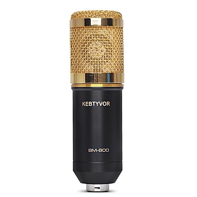 KEBTYVOR BM800 Przewodowa Mikrofon na Mikrofon komputerowy