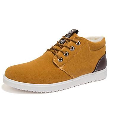 Muškarci Cipele Nubuk koža Jesen / Zima Udobne cipele Sneakers Crn / Bijela / Plava