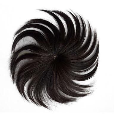 povoljno Perike i ekstenzije-Muškarci Remy kosa Tupe Capless