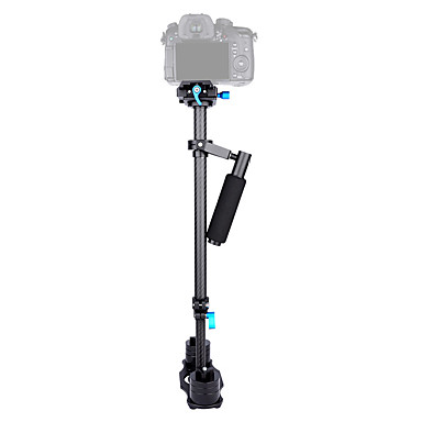 yelangu® profesyonel 0.6m karbon fiber el video kamera sabitleyici çin