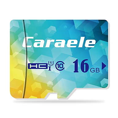 Caraele 16GB כרטיס SD כרטיס TF מיקרו כרטיס זיכרון Class10 CA-1 16GB
