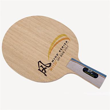 DHS® W1130 Ping Pang/מחבטי טניס שולחן עמיד עץ 1