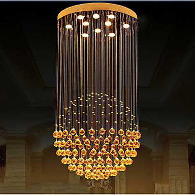Pendelleuchten Moonlight - Kristall LED, Modern / Zeitgenössisch, 110-120V 220-240V, Wärm Weiß, Inklusive Glühbirne