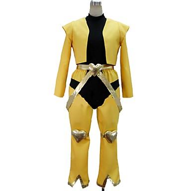 Zainspirowany przez JoJo's Bizarre Adventure Cosplay Anime Kostiumy cosplay Garnitury cosplay Inne Długi rękaw Top / Spodnie / Więcej akcesoriów Na Męskie / Damskie