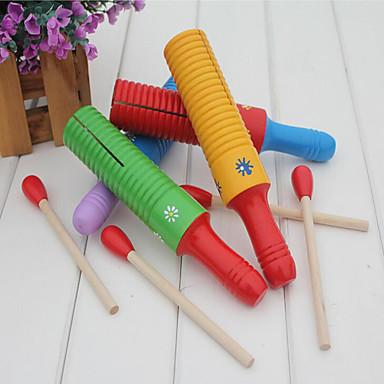 צעצוע חינוכי מקל מתחים לילדים Flower Shape עץ