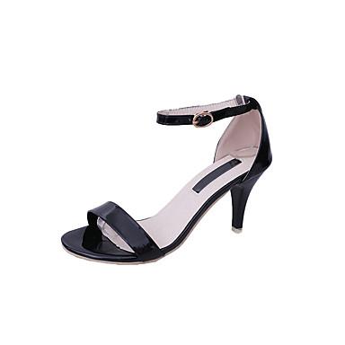 Mujer Zapatos Goma / EVA Verano Confort Sandalias Paseo Tacón Plano Negro oTk3mLz