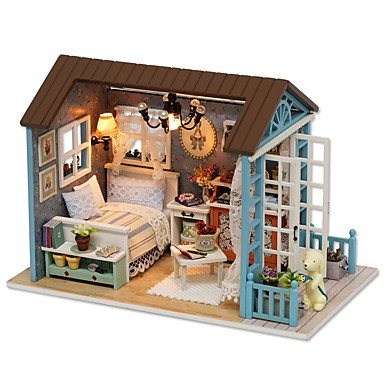 Doll House Diy Miniature Dollhouse Model Lovely Diy Exquisite