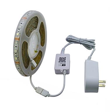 JIAWEN 5 M Taśmy świetlne RGB 300 Diody LED RGB Wodoodporne / Nadaje się do krojenia / Dekoracyjna 120-240 V 1 zestaw