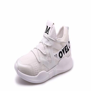 Mulheres Sapatos Couro Ecológico Verão Chanel Sandálias Caminhada Salto Plataforma Peep Toe Miçangas Branco / Preto / Rosa claro