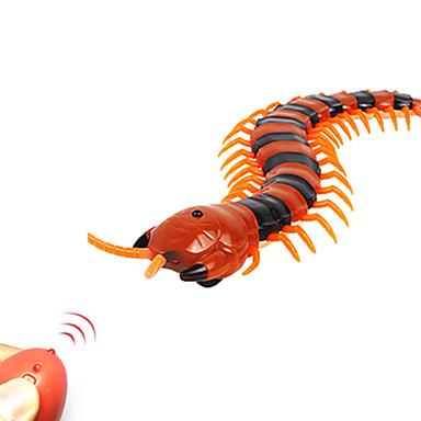 Jukseleker Fjernstyrte dyr Leketøy Skolopender tusenbein Creepy-crawly Fjernkontroll simulering Plast ABS 1 Deler