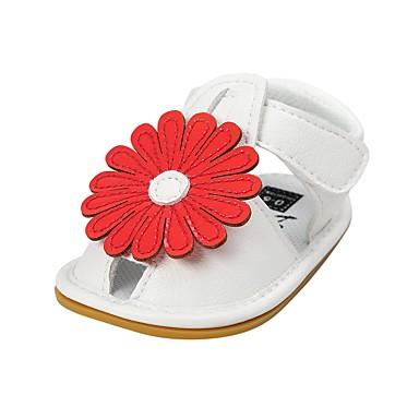 00dbaac05 ... Niño pequeño (9m-4ys) Confort / Primeros Pasos / Zapatos de Cuna Flor /  Cinta Adhesiva Rojo / Verde / Rosa Verano / Boda / TPR (Goma Termoplástica)
