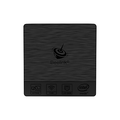 billige TV-bokser-Beelink BT3pro Mini PC Linux / Microsoft Windows 7 Mini PC Intel Atom x5-Z8350 Processor  (2M Cache, up to 1.92 GHz) 4GB RAM 64GB ROM Kvadro-Kjerne