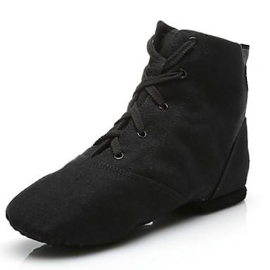 Ordinato Per Uomo Scarpe Per Danza Jazz Di Corda Ballerine - Sneaker A Fantasia Piatto Personalizzabile Scarpe Da Ballo Nero - Al Coperto #06629342