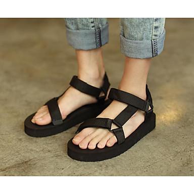 Męskie Komfortowe buty Oxford Lato Sandały Czarny / Casual