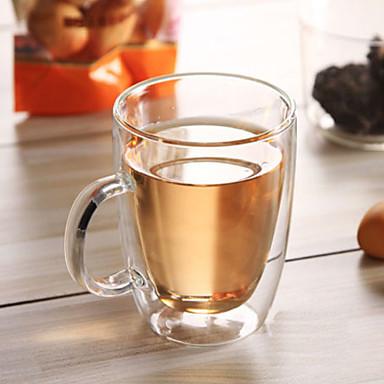 Naczynia do picia Szkło organiczne Szkło / Kubek Ciepło-izolacyjne 1 pcs