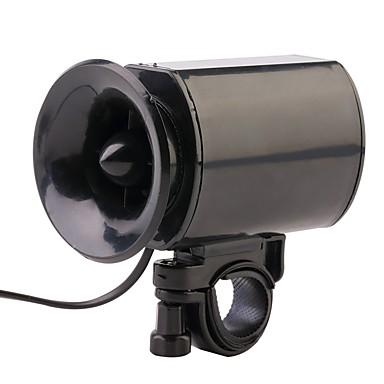 billige Sykkeltilbehør-Elektrisk sykkelhorn Anti-Ryste / Demping alarm Enkel å installere Til Vei Sykkel Fjellsykkel Sykling Plastikker Svart
