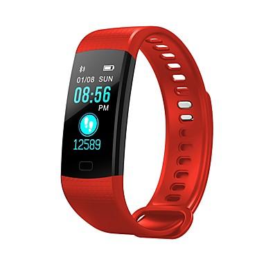 halpa Älyelektroniikka-Y5 Unisex Smartwatch Android iOS Bluetooth Sykemittari Poltetut kalorit Liikuntavihko Tiedot Sekunttikello Askelmittari Puhelumuistutus Sleep Tracker sedentaarisia Muistutus / Herätyskello / 200-250