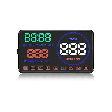 M9 5.6 in DOPROWADZIŁO Przewodowy / a Wskaźnik LED / Podłącz i graj / Wyświetlacz wielofunkcyjny na Samochód / Autobus / Kamyon Zmierz prędkość jazdy / Prędkość jazdy / Wyświetlacz KM / h MPH