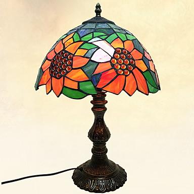 Tradycyjny / Classic Dekoracyjna Lampa stołowa Na Metal 220-240V