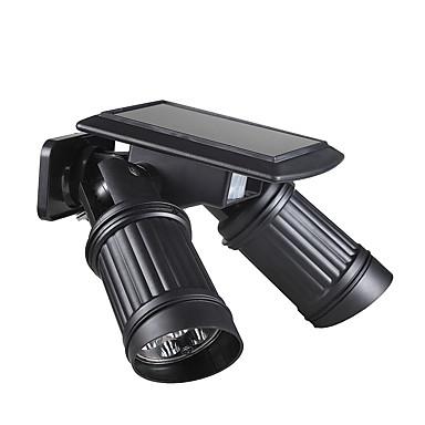 billige Utendørsbelysning-BRELONG® 1pc 1 W Wall Light Vanntett / Solar / Infrarød sensor Varm hvit / Hvit 5.5 V Utendørsbelysning / Courtyard / Have 14 LED perler