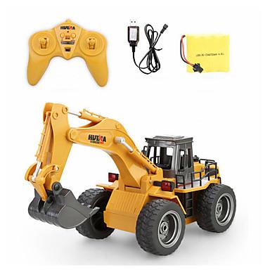 povoljno Radio kontrole Automobili-RC Car 1530 6 Kanala 2.4G radnik na iskopavanju 1:18 Četka Electric 40 km/h