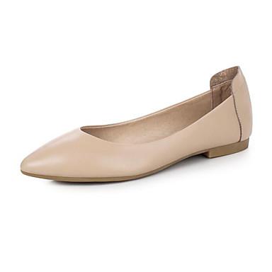 Printemps Kaki Talon Noir Amande PU Confort de Ballerines Automne Femme Plat 06665694 microfibre synthétique Chaussures qpgwSzXOf