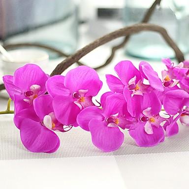 Sztuczne Kwiaty 1 Gałąź Elegancki / Rustykalny Orchidea / Wieczne kwiaty Bukiety na stół
