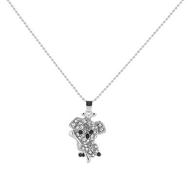 halpa Naisten korut-Riipus-kaulakorut Geometrinen Klovni Animal Cartoon Loma Muoti Metalliseos Valkoinen 50 cm Kaulakorut Korut Käyttötarkoitus Party Juhlat Lahja