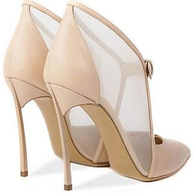 Talon Tulle Noir Escarpin Microfibre Boucle Printemps Chaussures Basique Femme Bout 06698725 Talons Amande à été Chaussures pointu Aiguille 5XqwEExZv