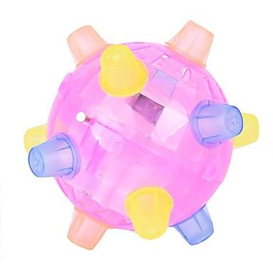 Недорогие Игрушки с подсветкой-LED освещение Шарообразные Мерцание / Танцы Полипропилен + ABS Все Детские Подарок 1pcs
