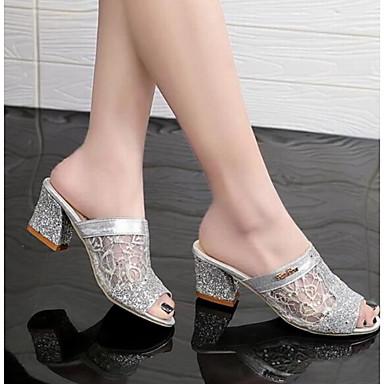 Bride Sandales Tulle Or Talon Bottier 06714731 Argent Chaussures Arrière Femme Eté A 5YIxzq