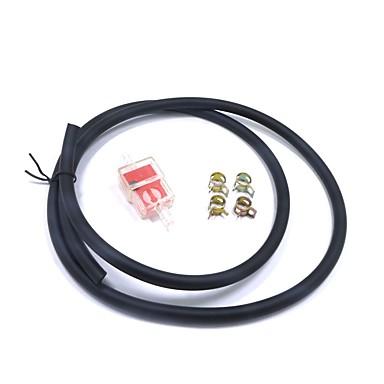 1m przewód paliwowy przewód rurowy zacisk filtra gazu benzyna zestaw do motocykla pit dirt bike atv 125 150cc