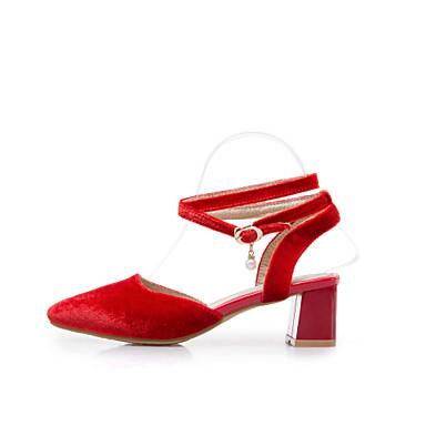 Bottier Talons Chaussures pointu Vert Rouge à Eté Similicuir 06668431 Chaussures Talon Confort Femme Bout Bleu WnR48Yvq4