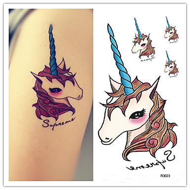 10 pcs Naklejki z tatuażem Tatuaże tymczasowe Seriale animowane Sztuka na ciele Ramię