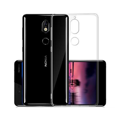 Maska Pentru Nokia Nokia 7 Transparent Capac Spate Mată Moale TPU pentru Nokia 7