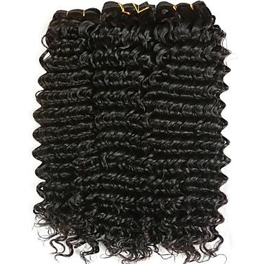 baratos Extensões de Cabelo Natural-3 pacotes Cabelo Malaio Ondulado 8A Cabelo Humano Cabelo Humano Ondulado Extensor Extensões de Cabelo Natural Côr Natural Tramas de cabelo humano Venda imperdível Extensões de cabelo humano Todos