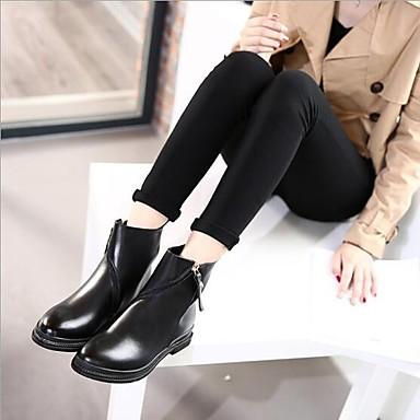 Femme Talon Automne Bottier Bottes Cuir Noir 06668104 Chaussures Confort r7zaxOrnq