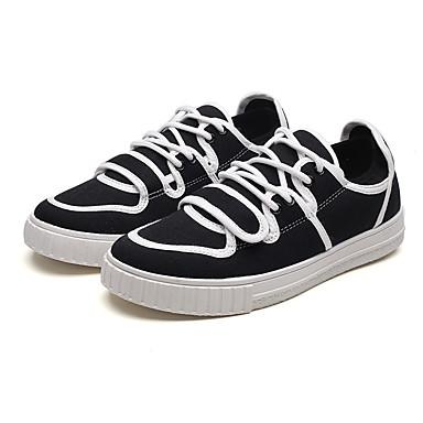 Męskie Komfortowe buty Tiul Lato Adidasy Biały / Czarny / Czerwony