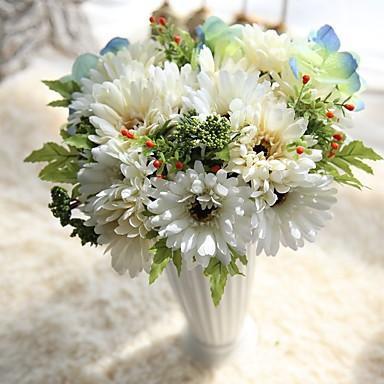 Sztuczne Kwiaty 7 Gałąź Akcesoria sceniczne / minimalistyczny styl Chryzantema / Wieczne Kwiaty Bukiety na stół