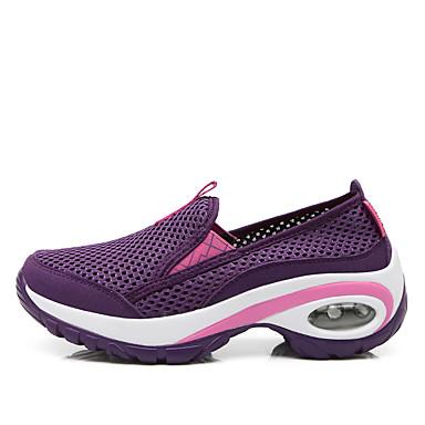 training d'Athlétisme Plat et Printemps Femme Talon Rose Fitness Violet Gris Tulle foncé Confort 06714758 cross Chaussures été Chaussures BqYqwv
