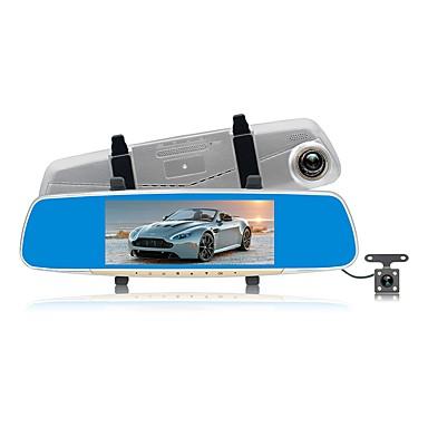 ZIQIAO JL-V10 1080p HD / Podwójny obiektyw Rejestrator samochodowy 170 stopni Szeroki kąt CMOS 7 in IPS Dash Cam z Night Vision / G-Sensor / Tryb parkingowy Rejestrator samochodowy / Wykrywanie ruchu