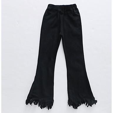 Dzieci Dla dziewczynek Aktywny Solidne kolory Spodnie