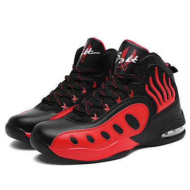 Homme Chaussures de confort Polyuréthane Automne Chaussures Chaussures Chaussures d'Athlétisme Basketball Noir / blanc / Noir / Rouge / Bleu royal / Athlétique   Beau Design  88ef57