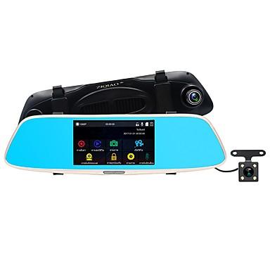 abordables DVR de Coche-ziqiao jl-327 full hd 1080p 5 pulgadas ips coche dvr dash cam con cámara de visión nocturna coche dash cam video unidad grabadora