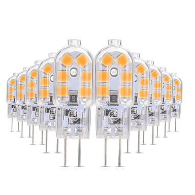 povoljno Dom i vrt-YWXLIGHT® 10pcs 3 W LED svjetla s dvije iglice 200-300 lm G4 T 12 LED zrnca SMD 2835 Toplo bijelo Hladno bijelo Prirodno bijelo 12 V