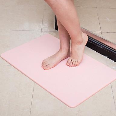 1szt Na co dzień Maty łazienkowe ABS + PC / żel krzemionkowy Kreatywne Prostokątne Non-Slip